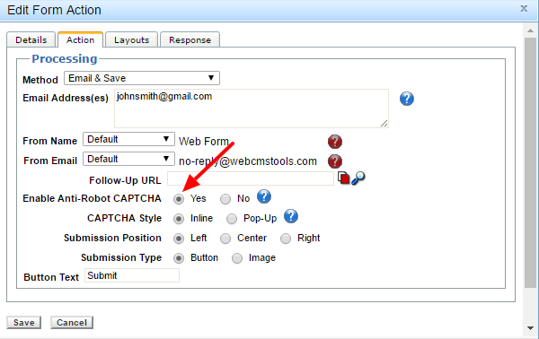 How to Reduce SPAM - Fission CMS Knowledge Base