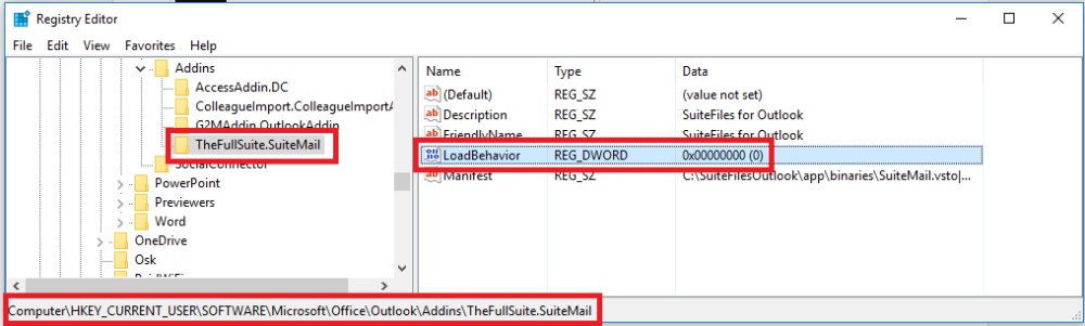 Common Outlook add-in Issues - SuiteFiles Knowledge Base