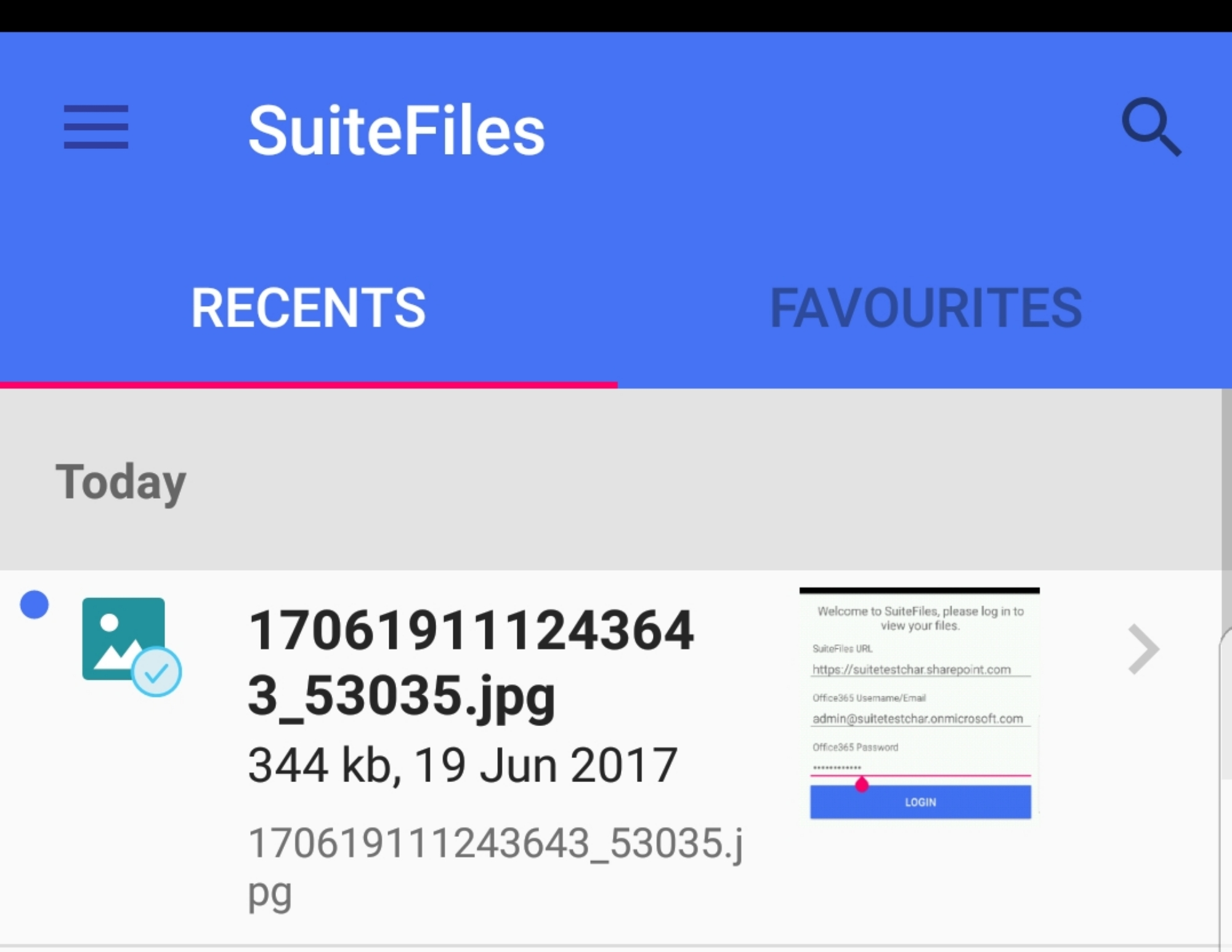 How to use the SuiteFiles Android App - SuiteFiles Knowledge