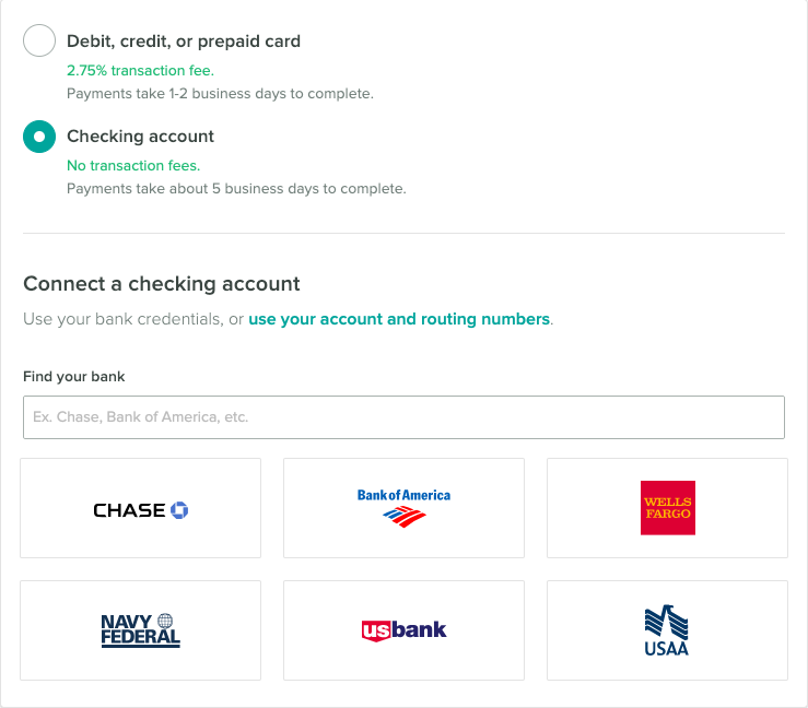 Adding a bank account to Cozy using the online banking credential portal