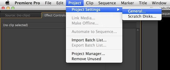 Mercury Engine Software Only Rendering in Premiere Pro CS5