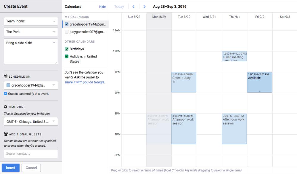Calendar Invite Mixmax Help Center