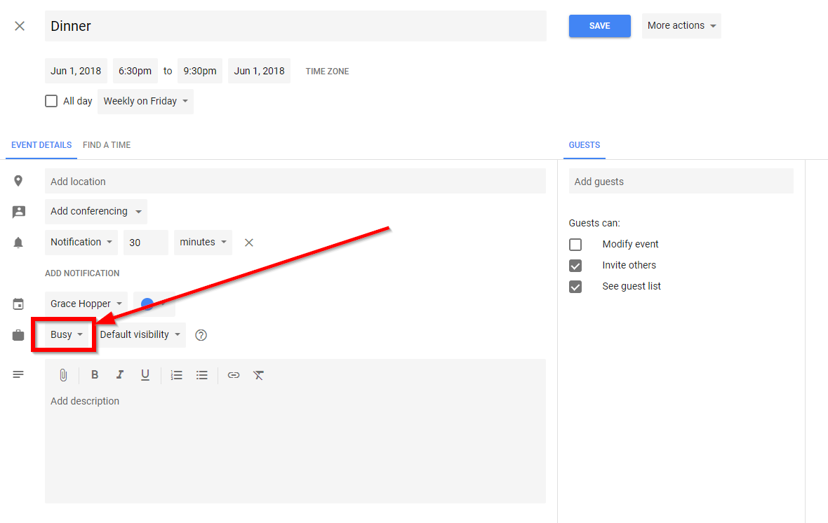 How Mixmax Determines Google Calendar Availability - Mixmax