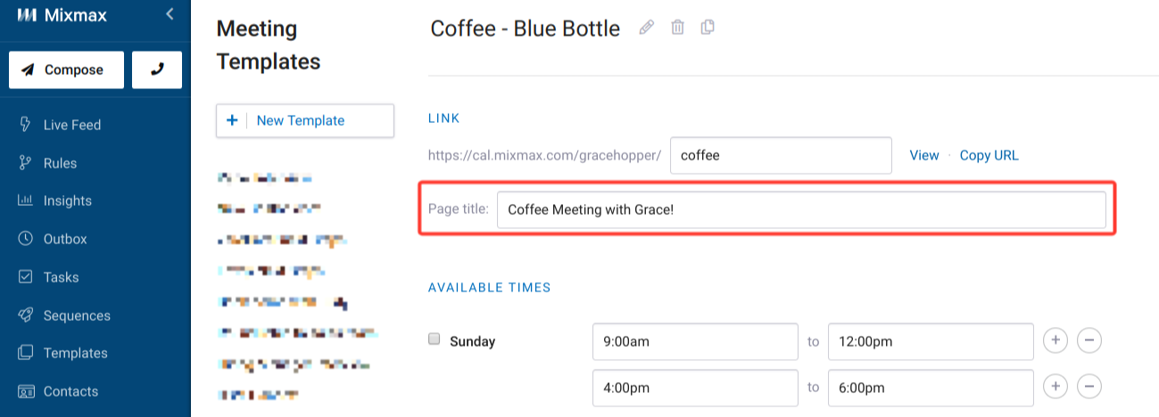 After That Your New Text Will Appear At The Top Of Meeting Template Calendar When Viewed On Web