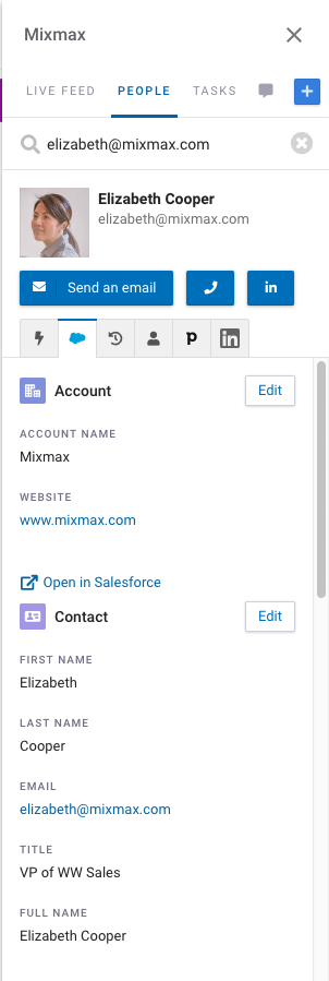 Connect to Salesforce - Mixmax Help Center