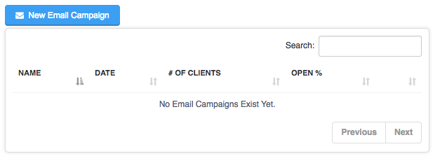 Sending Mass Emails To Clients - New Email Campaign