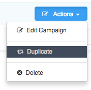 Sending Mass Emails To Staff Members - Duplicate Campaign