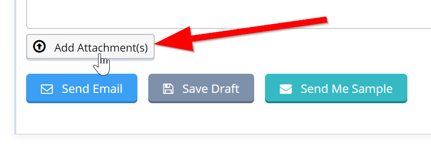 Sending Mass Emails To Clients - Add attachments to campaign