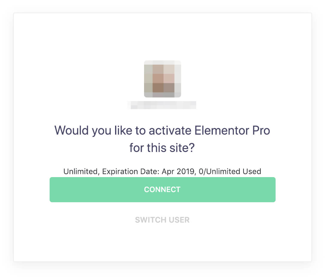 Activate your license key - Docs | Elementor