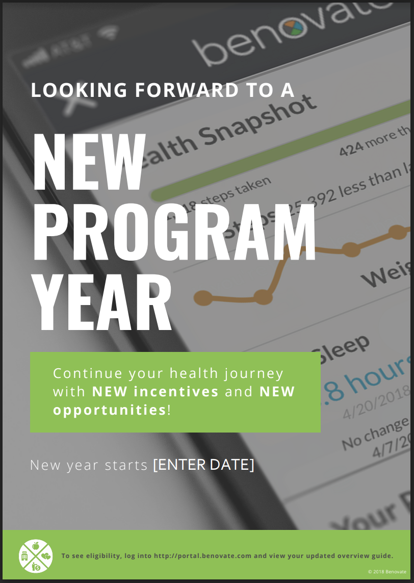 Fillable New Program Year Poster