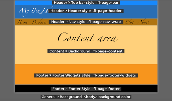 Beaver Builder Theme Customizer settings mapped to CSS - Beaver ...
