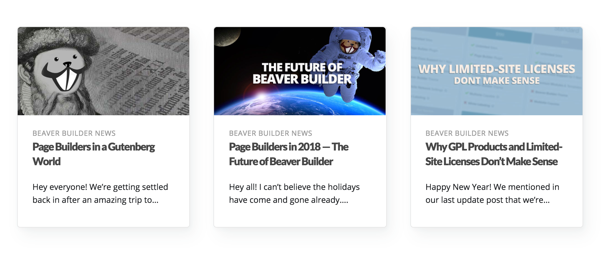 create a card layout for posts themer beaver builder knowledge base