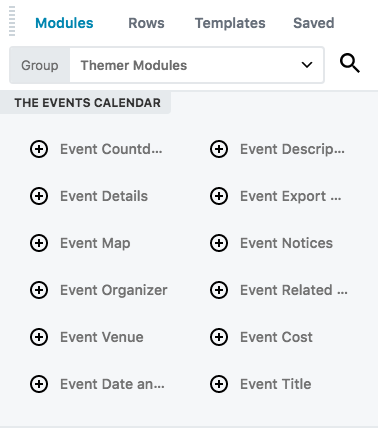 create a singular themer layout for the events calendar plugin