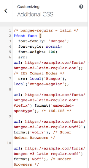 Load Google fonts and Font Awesome icons locally (GDPR) - Beaver