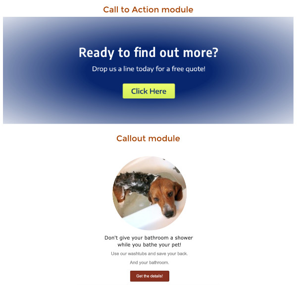 Callout and Call to Action modules overview - Beaver Builder