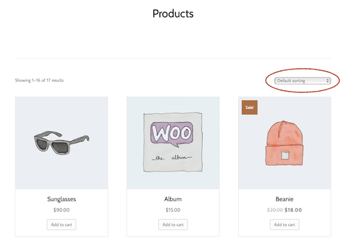 Products module for WooCommerce Archive Themer layouts - Beaver
