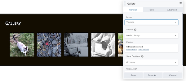 Gallery module overview - Beaver Builder Knowledge Base