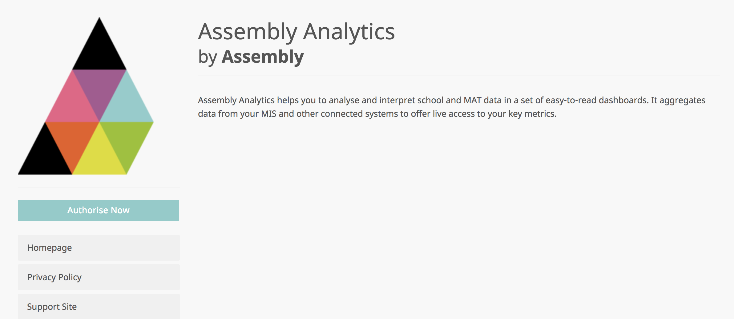 Authorising Assembly Analytics for your MAT - Assembly Education