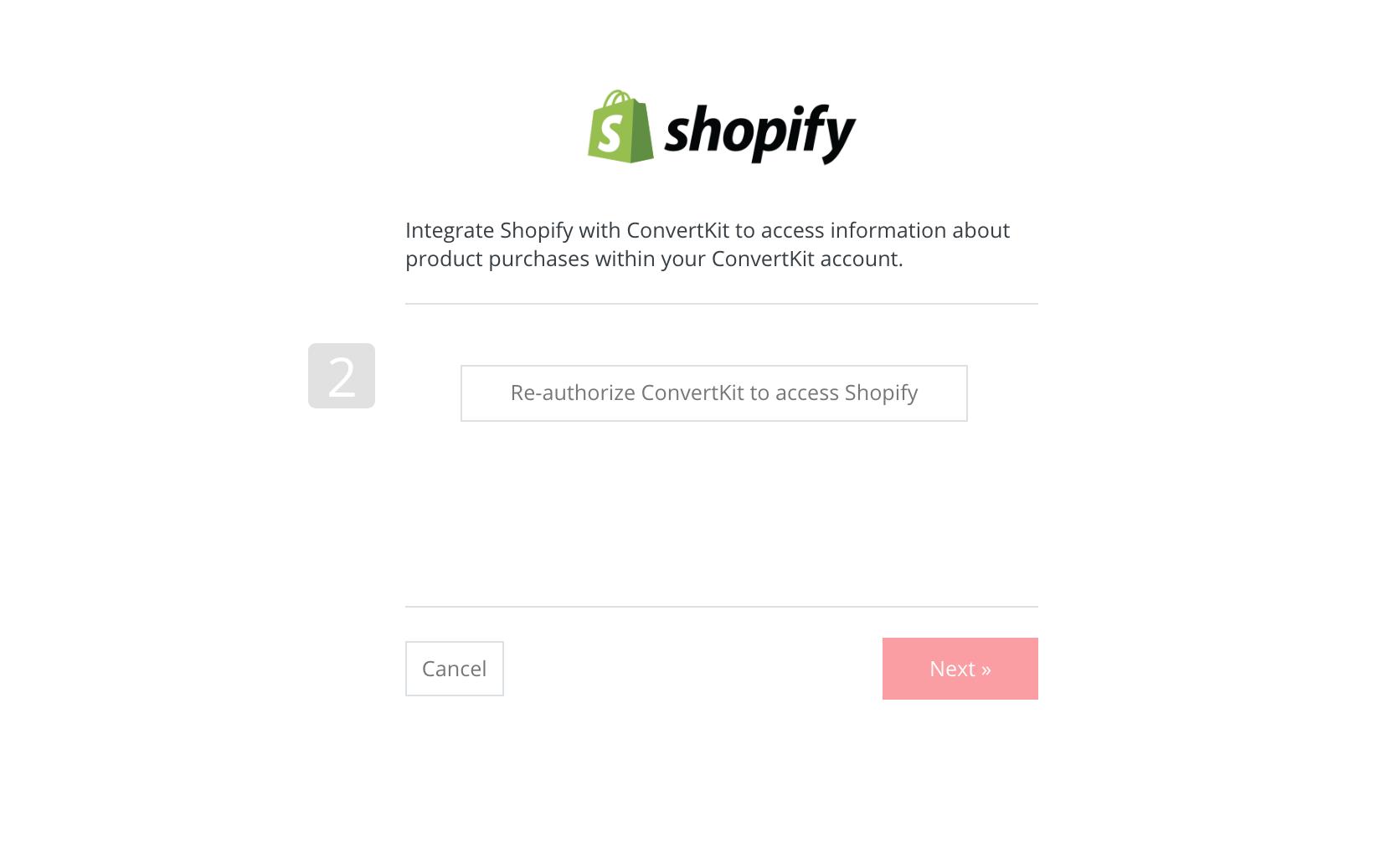 Shopify Integration - ConvertKit Knowledge Base