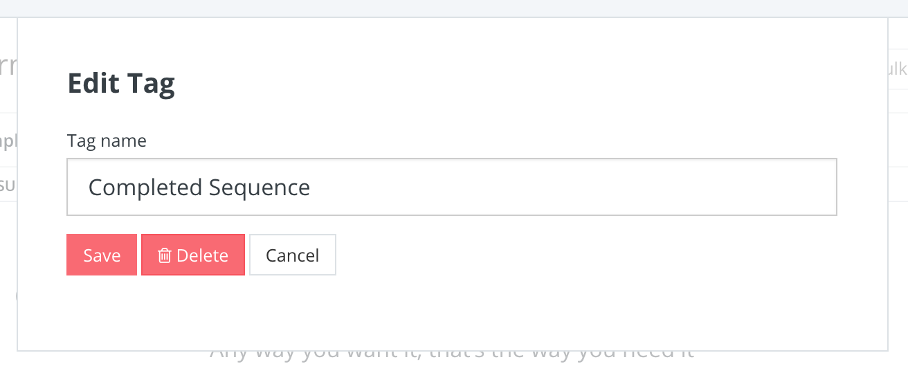 editing and deleting a tag convertkit knowledge base