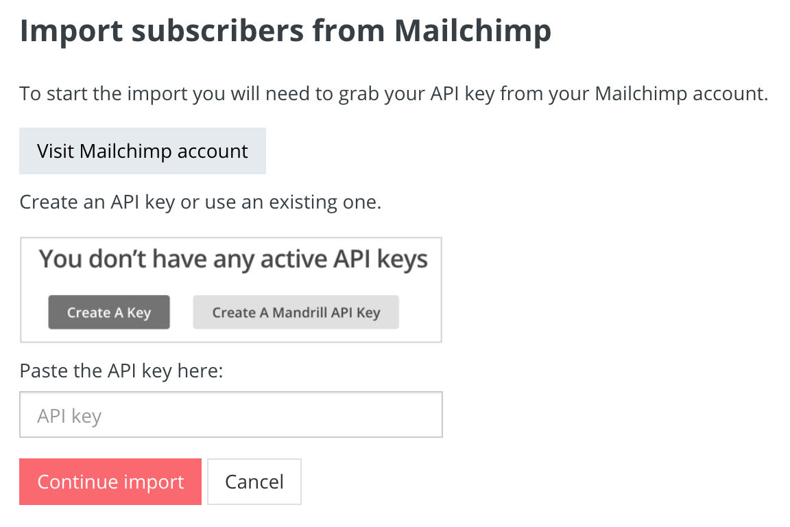 Switch From Mailchimp Convertkit Knowledge Base