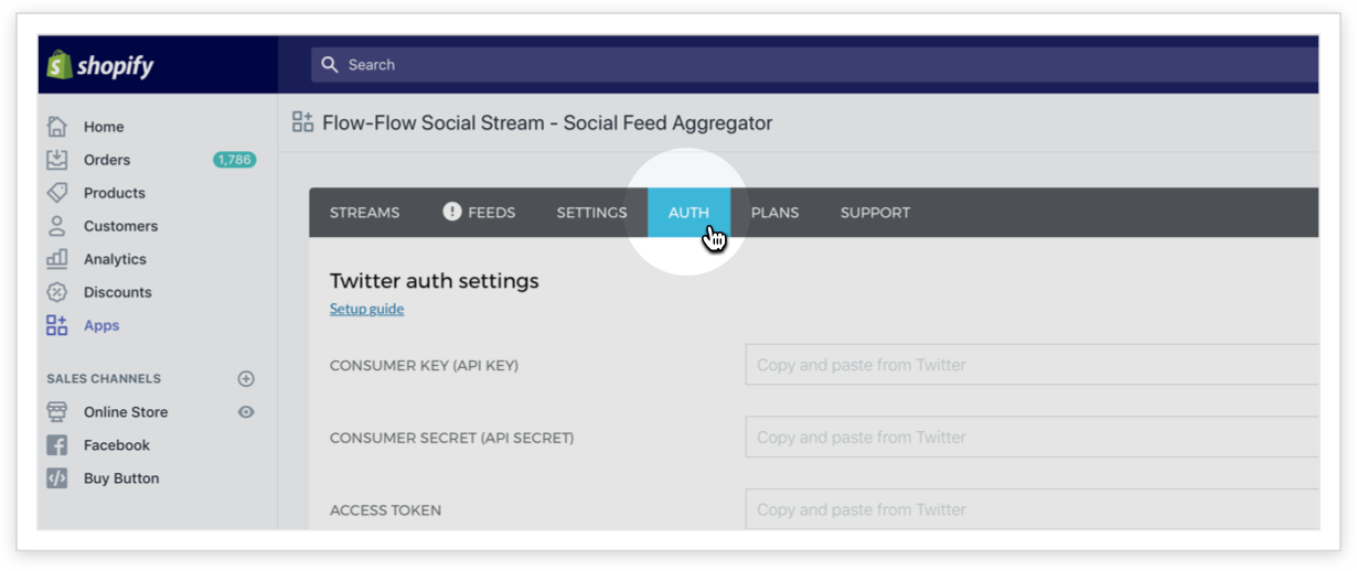 First Steps with Flow-Flow for Shopify - Social Streams Knowledge Base
