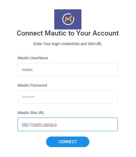 Mautic Integration - Replug Knowledgebase
