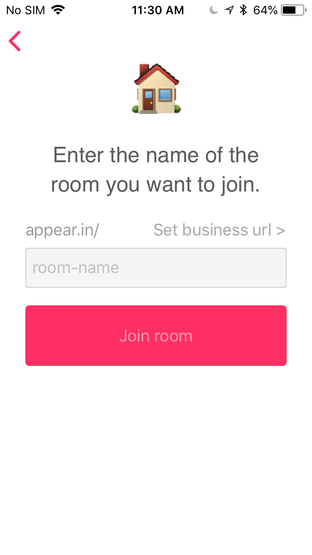 Join or Create an appear in room on iOS - Support Center