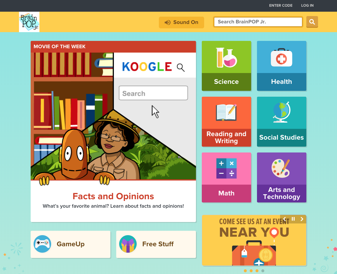 image of Brainpop junior