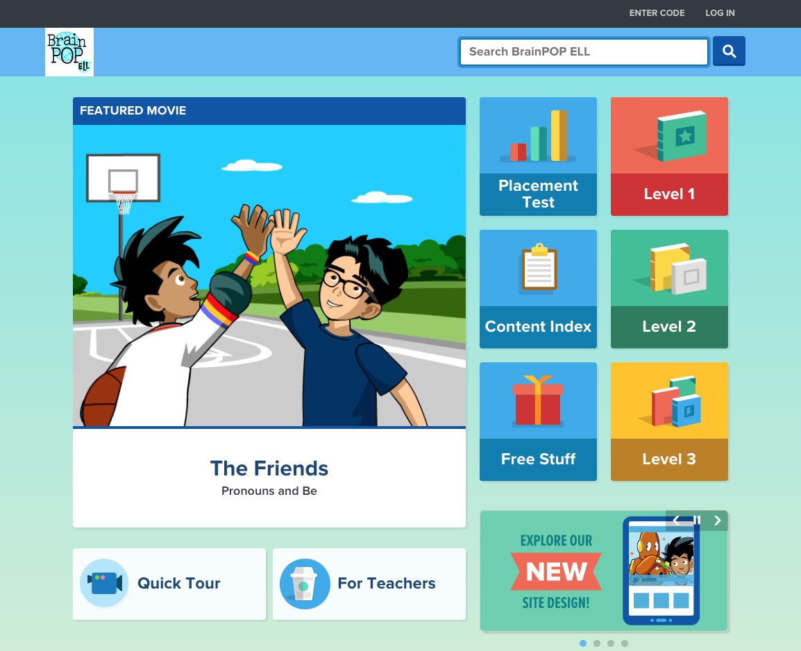 Image of brainpop ELL