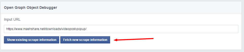 Facebook is Showing Wrong Image or Share Text - MashShare Documentation