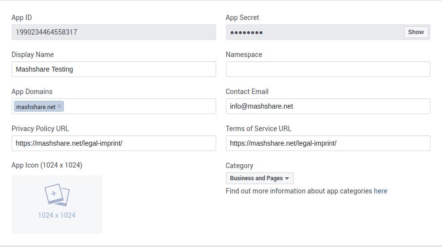 How To Create Facebook App ID - MashShare Documentation