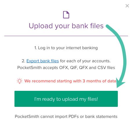 Importing bank files into PocketSmith - PocketSmith Learn Center