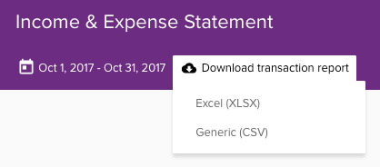 the income expense statement pocketsmith learn center