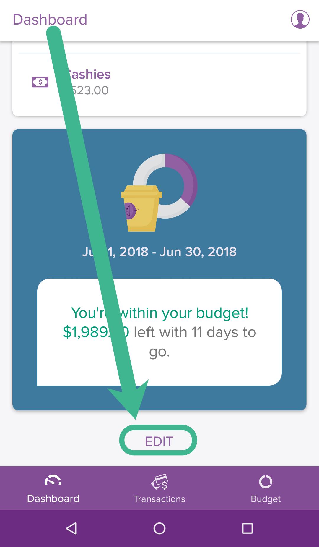 PocketSmith Android app - PocketSmith Learn Center
