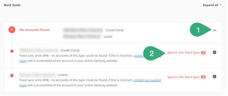 Troubleshooting bank feed errors - PocketSmith Learn Center