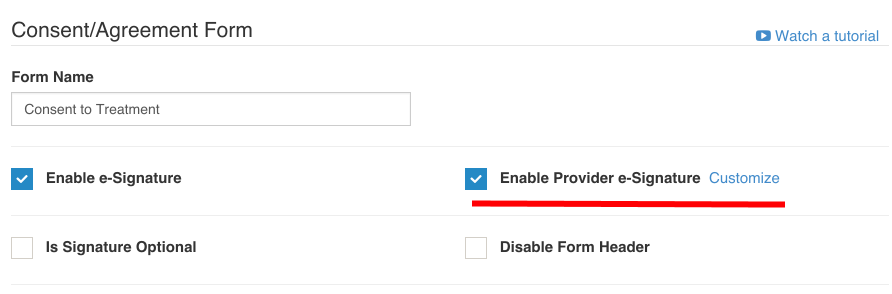 Provider Signature in Consent Forms - IntakeQ Knowledge Base