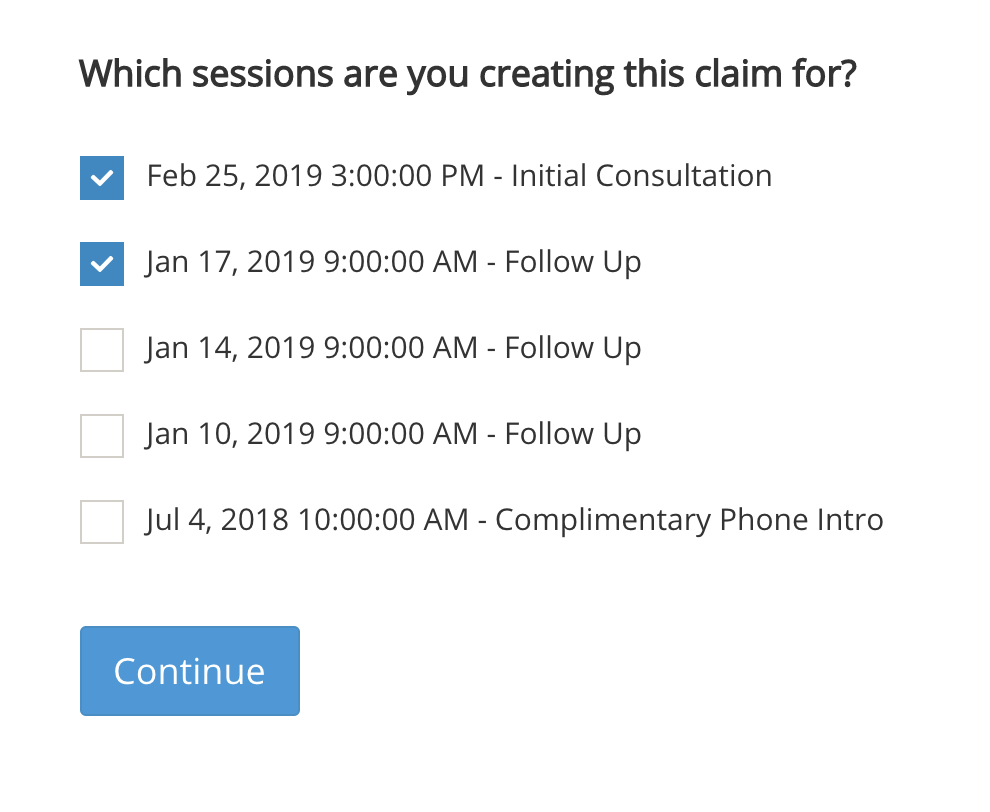 Creating a Claim (CMS 1500 Form) - IntakeQ Knowledge Base