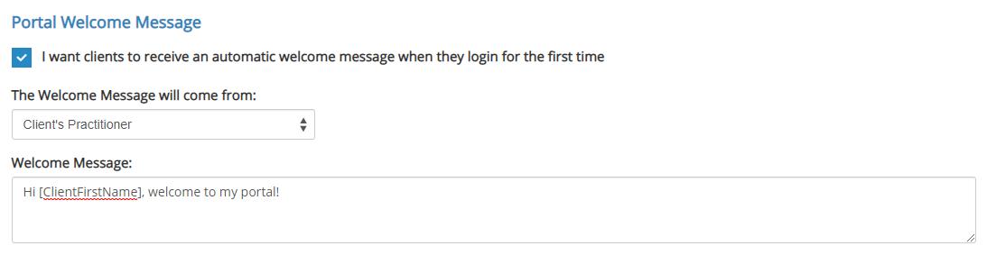 Client Portal Autoresponder & Welcome Message - IntakeQ