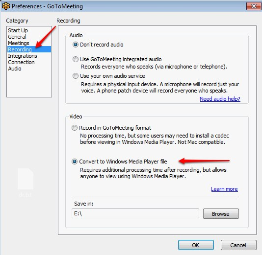 Encoding Videos Recorded From Gotomeeting Vzaar Knowledge Base