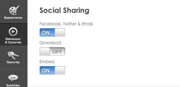 Social Sharing - vzaar Knowledge Base