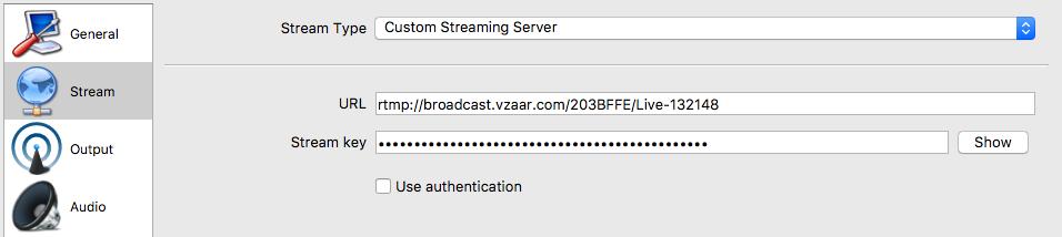 Live Streaming - vzaar Knowledge Base