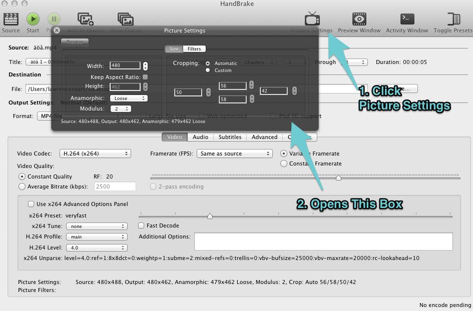 Video Size: How to use Handbrake - vzaar Knowledge Base