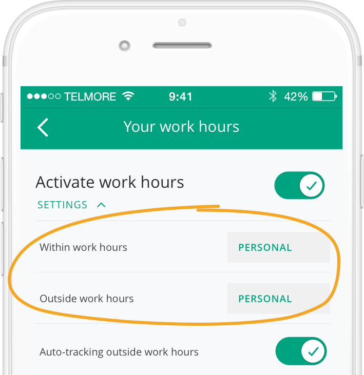 How to add your working hours - Driversnote Knowledge Base