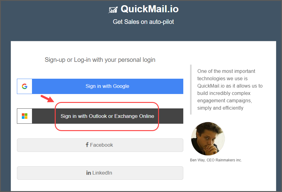 How to use Outlook with Quickmail - QuickMail io Knowledge Base