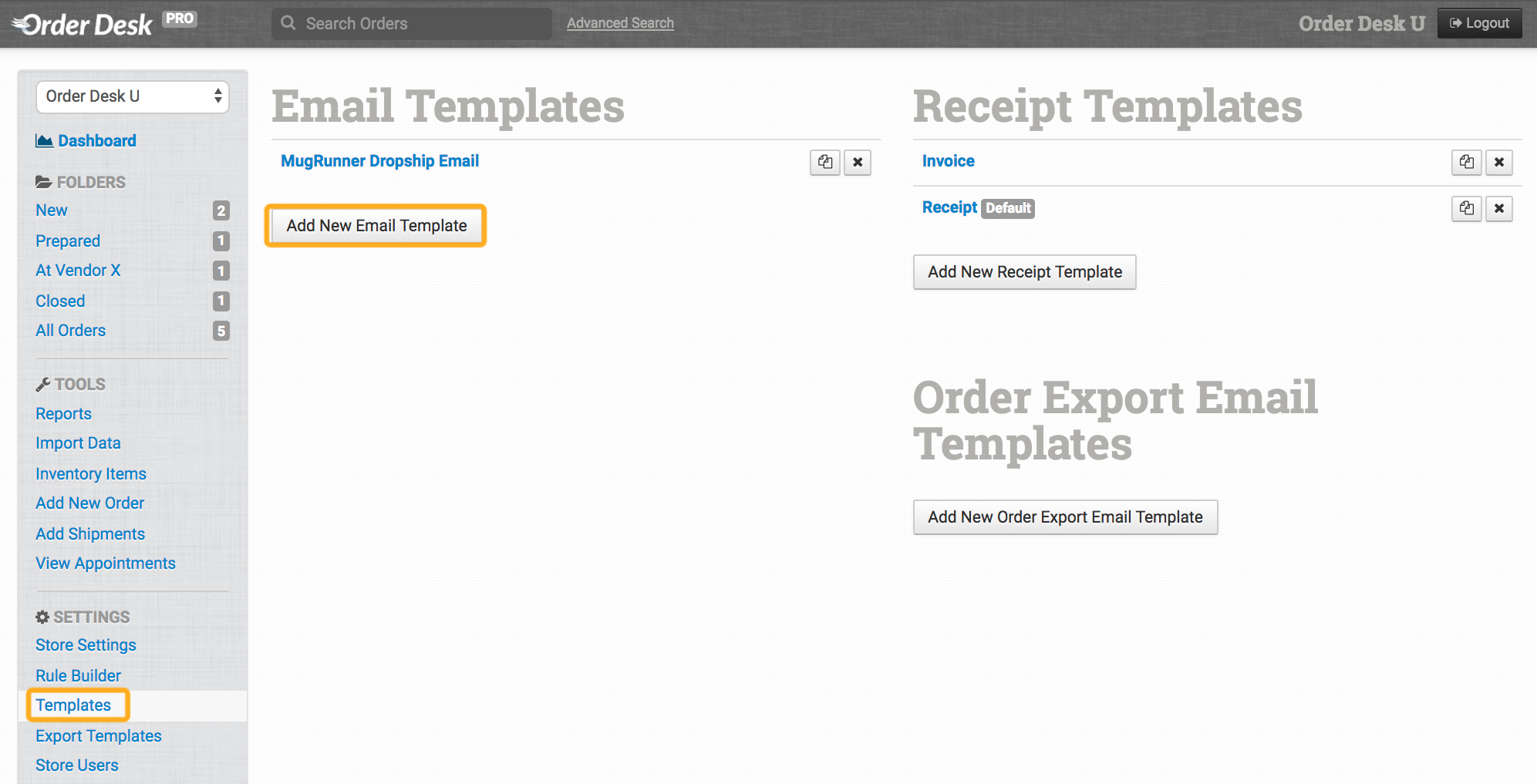 How To Send Shipmenttracking Info To Customers Order Desk Help Site