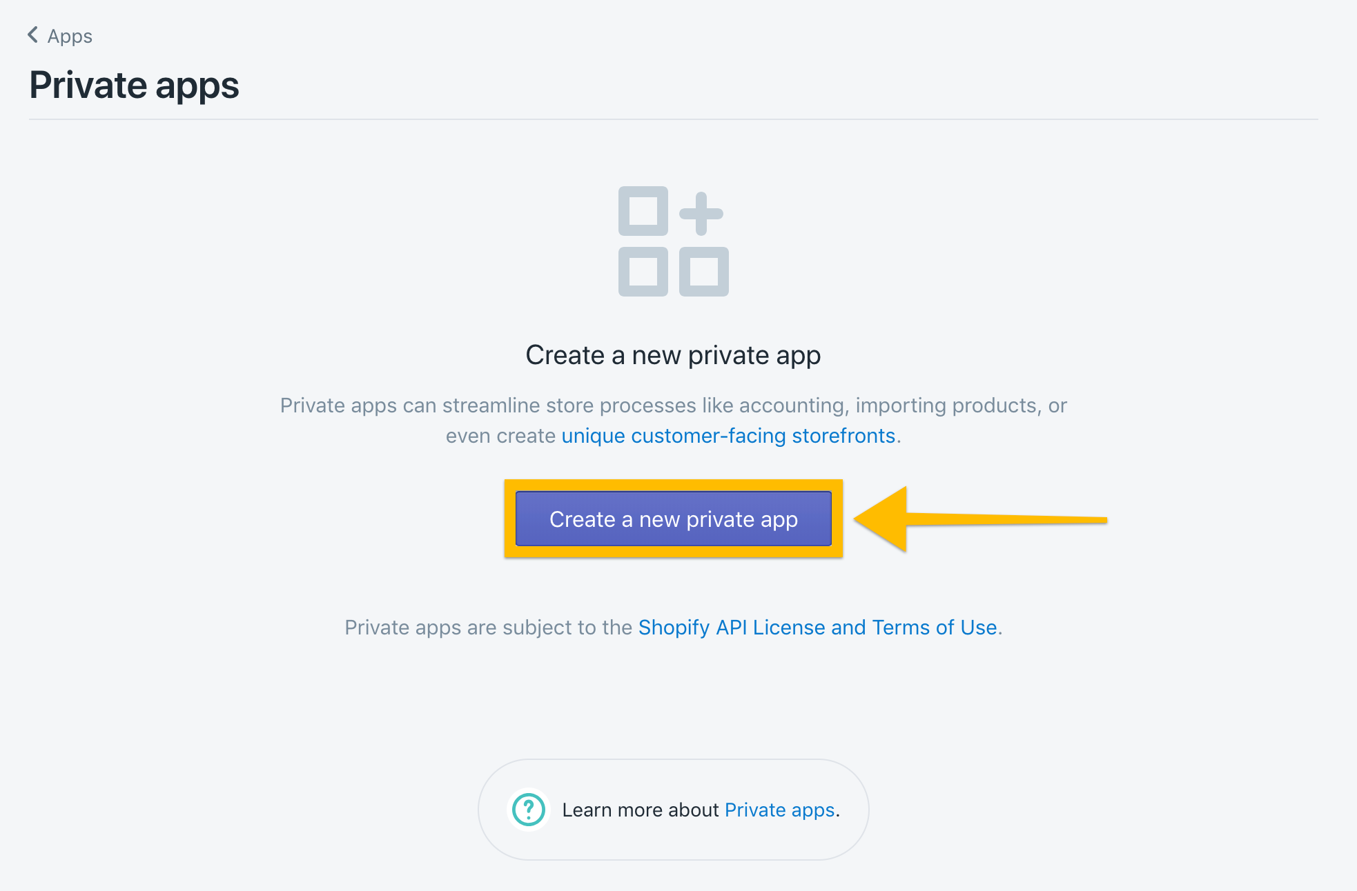 How to Connect to Shopify with the Private App Method