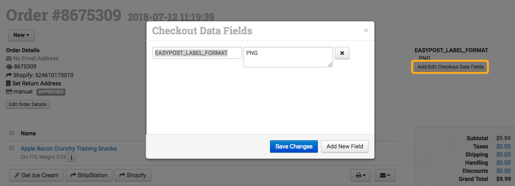 How to Create Labels with EasyPost - Order Desk Help Site