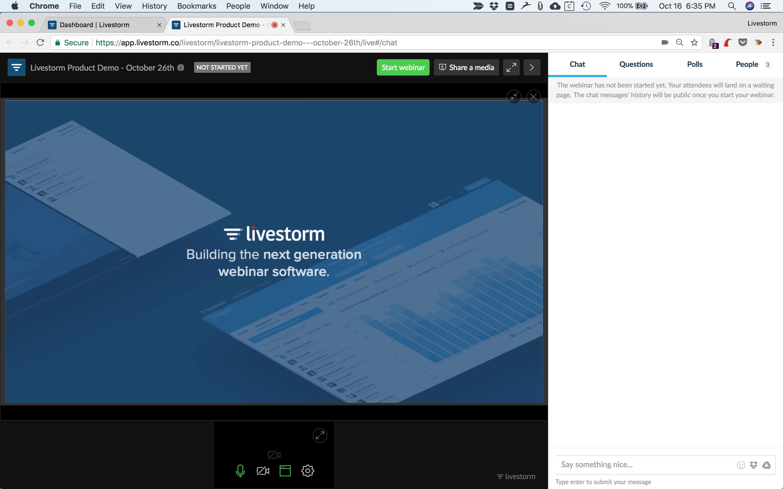 How to Share a Presentation on Livestorm? - Documentation