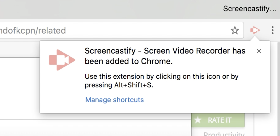 Install the Screencastify extension - Help & Learning
